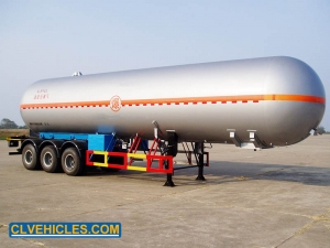 lpg transport semi trailer