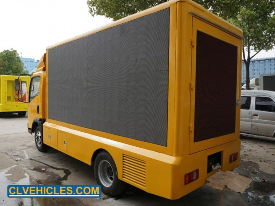 LED Screen Hydraulic Truck