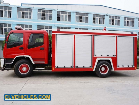 Truck With Fire Fighting Equipment