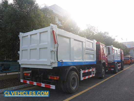 Tipper Truck For Refuse Transfer