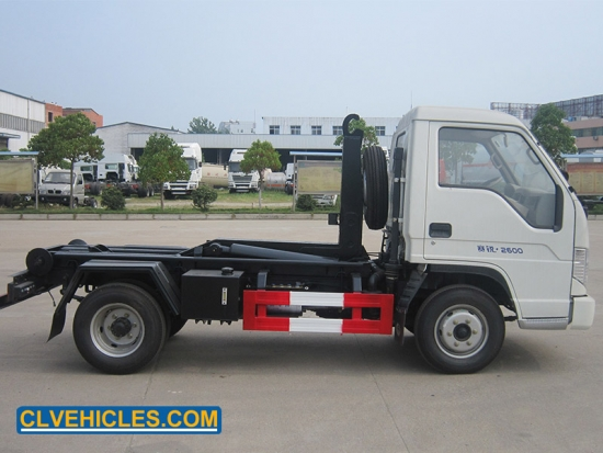 truck with Hook Hydraulic Arm