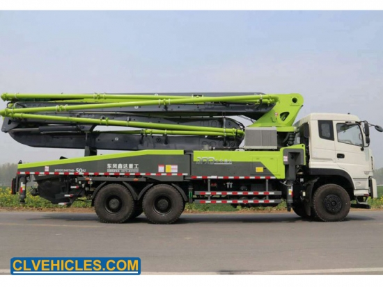 38m Vehicle of Concrete Pumping